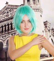 Cheap green wigs Best short wigs