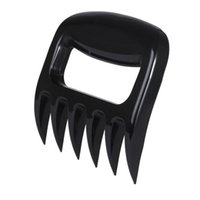 Wholesale BBQ Grill Smoker Bear Paw Meat Claws Handlers Pork Shredder Puller Carving Forks Black