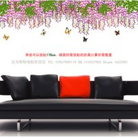 Cheap bedroom decoration Wholesale DIY creative wall stickers stickers bedroom living room TV background decorative baseboard trim AY209A