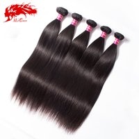 Cheap Natural Color Ali Queen Best 100g Straight malaysian straight hair