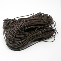Wholesale 1 MM Wax Cord m Brown Jewelry Cord Craft Jewelry Making DH FXT004