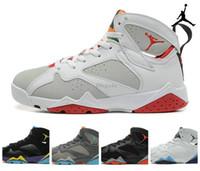 aj7 - Nike Retro Hare Marvin the Martian Purple Bobcats Men Womens Basketball Shoes Brand New AJ7 retro VII Sneakers J7s