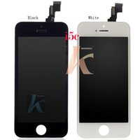 Wholesale Original Grade A LCD Display Touch Screen Digitizer Full Assembly for iPhone C Replacement Free DHL