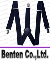 Wholesale Fashion Womens Y Back Suspenders Adjustable Mens Elastic Braces For Trousers Clip on Belt For Overall Adults LLFA4485F