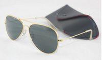 Wholesale 2015 Fashion brand Mens Women Sun Glasses Designer gold frame Sunglasses beach sun glasses mm original box