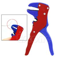 automatic wire cutters - Hot Sale Automatic Self Adjusting Cable Wire Stripper Crimper Stripping Cutter Y107