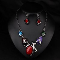 cheap price jewelry - Hot Sale and in stock Fashional style Bridal Necklaces Unique design Cheap Price Bridal Jewelry