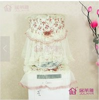 Wholesale Mona Rose Lace Series pastoral dispenser cap hood drinking fountains Dust cloth