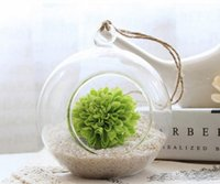 Wholesale 8CM hanging glass candles Glassball Tealight Holders Wedding or Home Decor candlestick