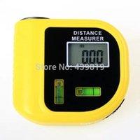 ultrasonic distance meter - New M Mini Ultrasonic Digital Tape Measure Laser Range Finder Distance Meter Laser Pointer Rangefinder Level Tool