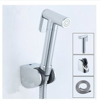 Cheap Bathroom accessories Chrome polished brass bidet small shower toilet faucet mixer tap hand shower