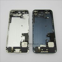 Wholesale For iPhone Back Battery Housing Cover Assembly with full small parts Black and White color