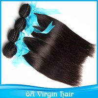 30 inch hair extensions - 10 Inches Hair Extensions Brazilian Remy Human Virgin Straight Hair Natural Black Color Can Be Dyed g bundle Mix Length
