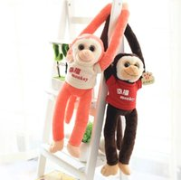 baby happiness - Hot cm New Arrival Bless Happiness Monkey Dolls Cute Soft Plush Toys Baby Girls Loved Gifts Toys YZT0041