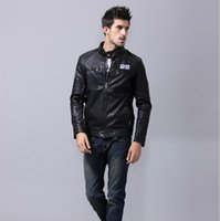 Wholesale 2015 new autumn and winter clothing plus velvet jacket leisure wild young men jacket collar Slim leather L XL