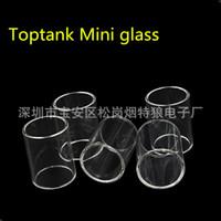 Wholesale Top Quality Replacement Toptank Mini Pyrex Glass Tube for Kanger Toptank Mini Nano Atomizer Topbox Mini Subvod Mega TC Kits