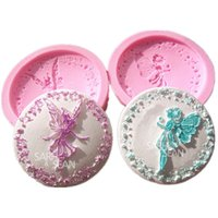 baking secrets - Lovely Secret Wish Girl and Dancing Fairy Girl Fondant Cake Molds Chocolate Molds for Kicthen Baking Decorstions Toosls