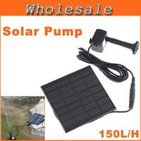 Wholesale Hot Sell Pool Water Pump Garden Plants Watering Kit Solar Power Fountain Soar Pump Water Pump