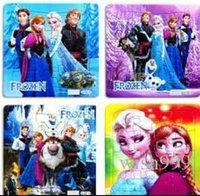 Wholesale 800 Frozen Princess Elsa Anna Puzzle Children s educational toys Gift