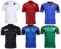 ireland - 2015 world cup rugby jerseys rugby France top quality new zealand all blacks Ireland ITALY England world cup Rugby Jersey