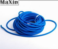 Wholesale Blue Outdoor Tube Dia mm M Replacement Band for Hunting Sling Shot Slings Rubber