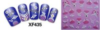 stamping - 2015 Nail Art Stickers Decal Beauty Colorful D Design Decorative Foils Stamping Tools XF435