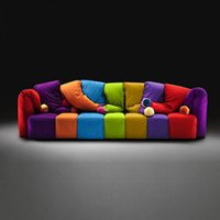 Wholesale Fashion casual color colorful Christmas simple and modern living room sofa jester Hat