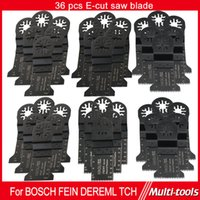 Wholesale 36pc mm E cut Oscillating Tool saw blades for TCH Fein Dremel multiMaster power tool