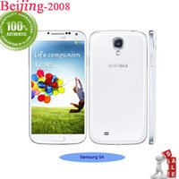 Wholesale Original Samsung Galaxy S4 Cell Phone I9500 Unlocked Camera MP inch GB RAM GB ROM Android Smartphone Quad Core G WCDMA