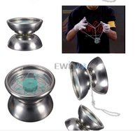Wholesale Hot Selling High Quality Professional Stainless Steel YoYo Ball Bearing String Trick Kids Toy Fun Gift