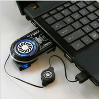 Wholesale Mini Vacuum USB Air Extracting Cooling Fan Cooler for Notebook Laptop Computer Components