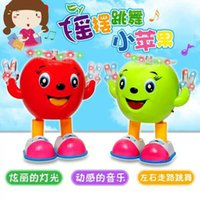 baby super market - The new walk and dance little apple flash dance music doll electric super hot night market stall