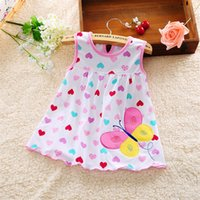 bebe tank - Cotton Brand New Tank Baby Girl Dress Summer Style New Born Baby Dress Princess Toddler Girl Clothing Meias Bebe