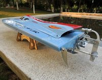 rc boat 26cc - FSR FOUNTAIN CC Gasoline Powered O Type Racing Boat mm G RTR RC gas engine boats Hobby Vehicle Dropship