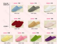 Wholesale 2015 New Non disposable slippers Hotels Guesthouse Home Hospitality Non woven Thick slip A105 Flip flops Non disposable slippe