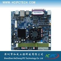 amd dual cpu motherboards - M432 ITX HCMF2X61F AMD T56N Dual core CPU Embedded Motherboard COM SATA USB GPIO Mini PCIE Giga LAN ATX Desk PC DDR3 memory VGA HDMI