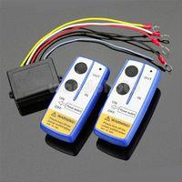 atv winch kits - 50ft Wireless Winch Remote Control Kit For Jeep ATV SUV UTV V Switch Handset Remote Controls
