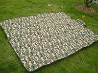 Waterproof army camouflage bedding - Cushion Outdoor Camouflage Picnic Mat Army Style Camping Sleeping Mat Bed Pad