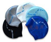 Wholesale Free size Waterproof PU Fabric Protect Ears Long Hair Sports Siwm Pool Swimming Cap Hat Free size for Men Women Adults