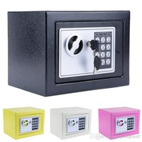 Wholesale New Hot Digital Electronic Safe Security Box Wall Jewelry Cash A5