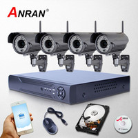 anran cctv - ANRAN CH Network NVR CCTV Kit P Varifocal mm Len IP Camera WIFI Wireless Outdoor Security System Video Surveillance