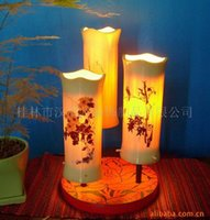 bamboo serving - Served warm and elegant culture bamboo lamps wood carving lamp collection features Root