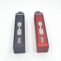 battery displays - Titan Dry Herb Vaporizer herbal vaporizers Hebe Kit vapor mod With LCD Display Of Tempreture mah Battery VS titan vaporizer Pens