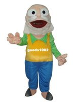 Cheap EVA+High quality, Old man doctor cartoon mascot costume suit adult size ,the product are as the photo not black color