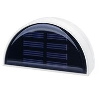 Wholesale S5Q Outdoor Waterproof Garden Solar Power LED Powered Light Wall Fence Yard Lamp AAAEQY