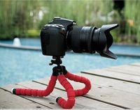 camera grip - New Digital Camera Mini Tripod Stand Flexible Grip Octopus Bubble Pod Monopod Flexible Leg Small Camera Holder Colors