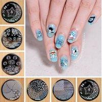 Wholesale 8PCS Fashion Design Plate Hehe Series For Choosing Nail Art Image Konad Print Stamp Stamping Manicure Template DIY