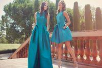 american made bridesmaid dresses - 2016 Cheap American Beauty Bridemaid Dresses Plus Size Short Prom Party Dress Cocktail Gowns Maids Honor Gowns Vestidos De Novia