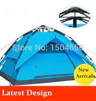 automatic door factory - Factory Sale High Quality Persons double Layer double door tent Quick automatic Opening barraca outdoor camping rain tents