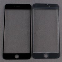 Wholesale For iPhone plus Inch Front Glass Lens Touch Touch Screen Cover Replacement Parts For iPhone G BLACK color